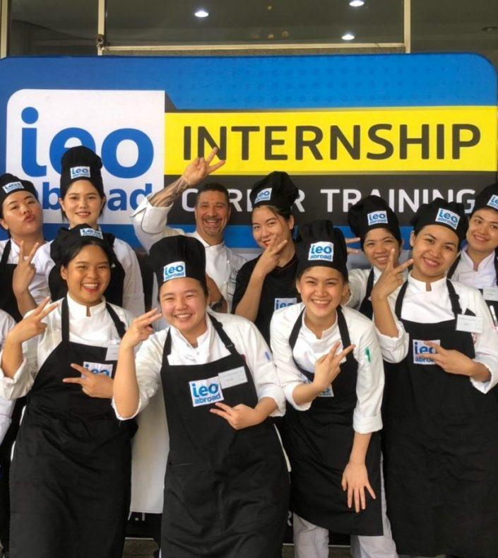 Internship ฝึกงานต่างประเทศ ฝึกงานครัว ฝึกงานร้านอาหาร ฝึกงานครัว ฝึกงานโรงแรม